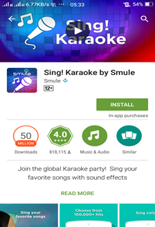 Review] New Application in My Generation 'Sing! Karaoke by Smule